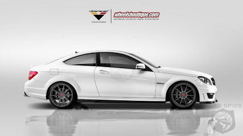 2012 Mercedes C63 AMG Coupe by Vorsteiner  AutoSpies Auto News