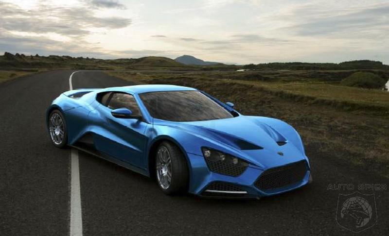 Zenvo St1 Blue Zenvo St1 Blue